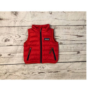 Patagonia Red 3 Month Puffer Vest